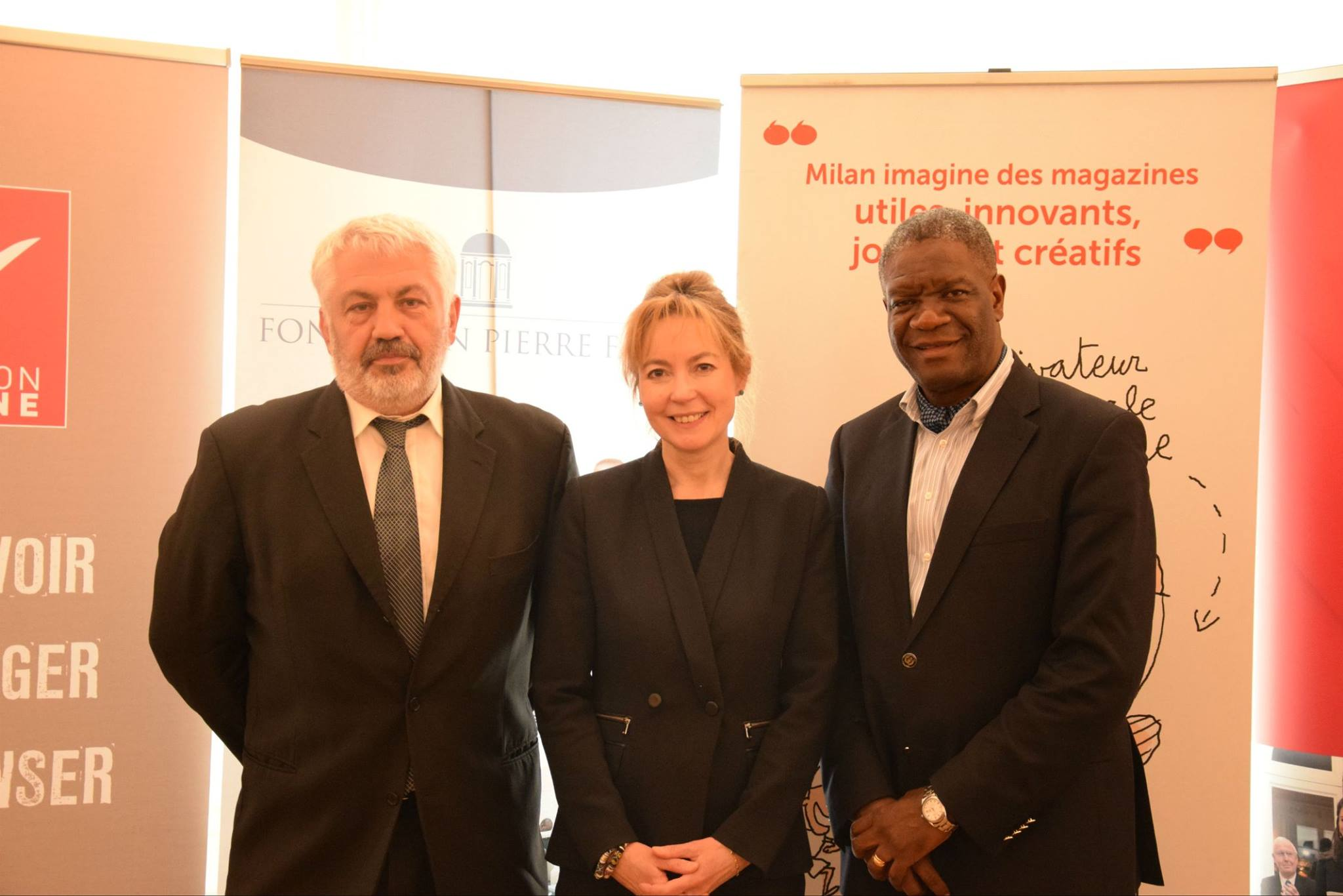 mukwege foundation partners with french organizations to expand holistic survivor support  u2022 dr