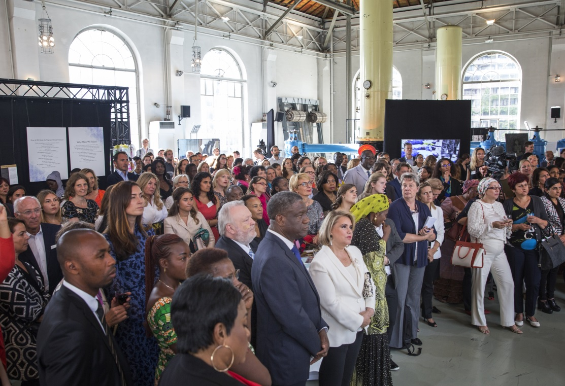 Exhibition by survivors of sexual violence in conflict. Photo: Mukwege Foundation/Jeppe Schilder